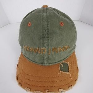 Donald J Pliner Women's Distressed Baseball Cap